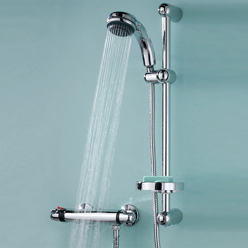 Ultra Reef Bar Shower Valve with Slider Rail Kit - A3900 Feature Large Image