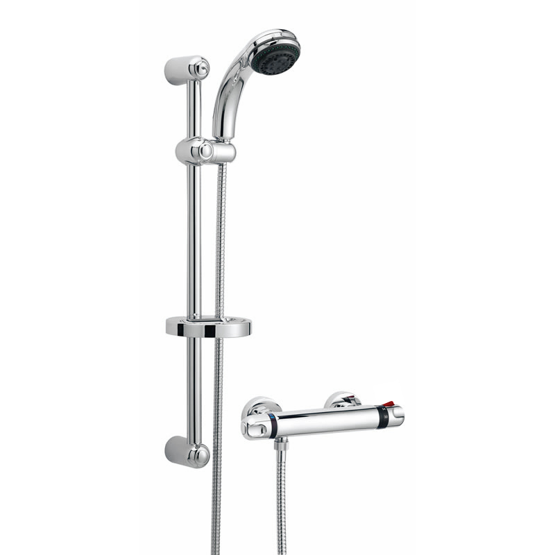 Ultra Reef Bar Shower Valve with Slider Rail Kit - A3900 profile large image view 1