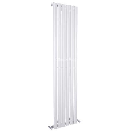 Hudson Reed - Ripple Single Panel Designer Radiator 1800 x 420mm - White - HRL002