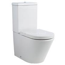 Hudson Reed Round Close Coupled Toilet Medium Image