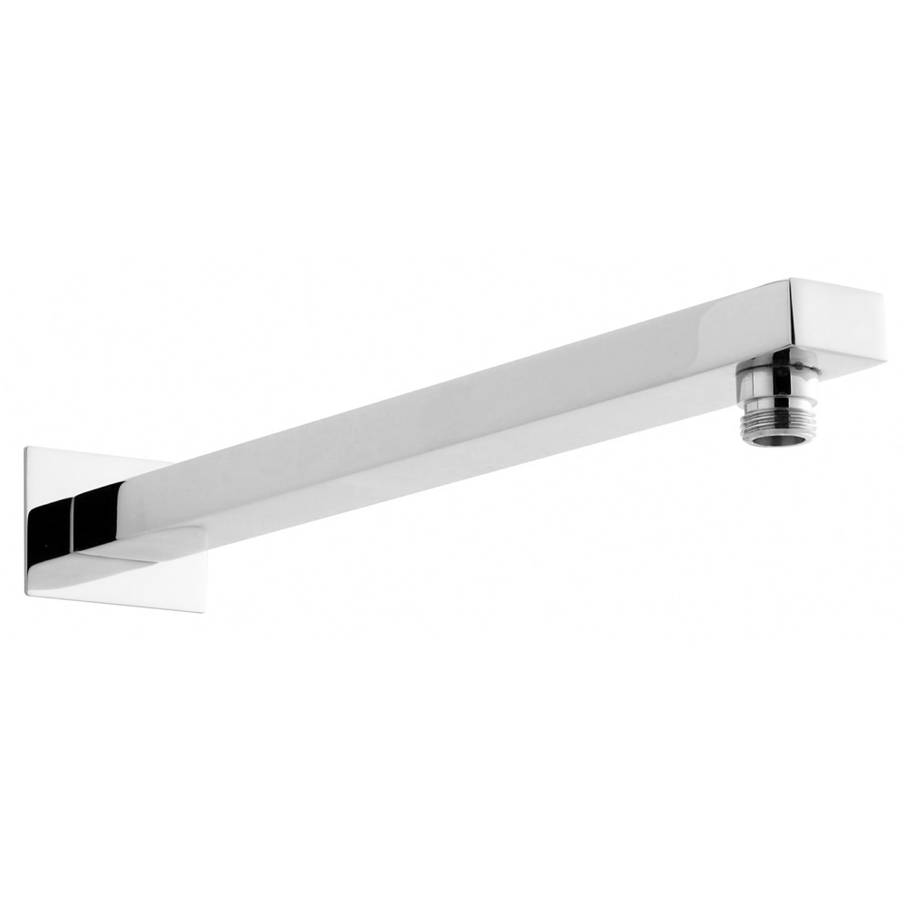 Hudson Reed Small Rectangular Shower Arm - Chrome - ARM13 Large Image