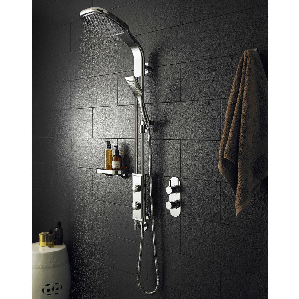 hudson reed splice shower kit chrome a3706 at victorian plumbing uk. Black Bedroom Furniture Sets. Home Design Ideas