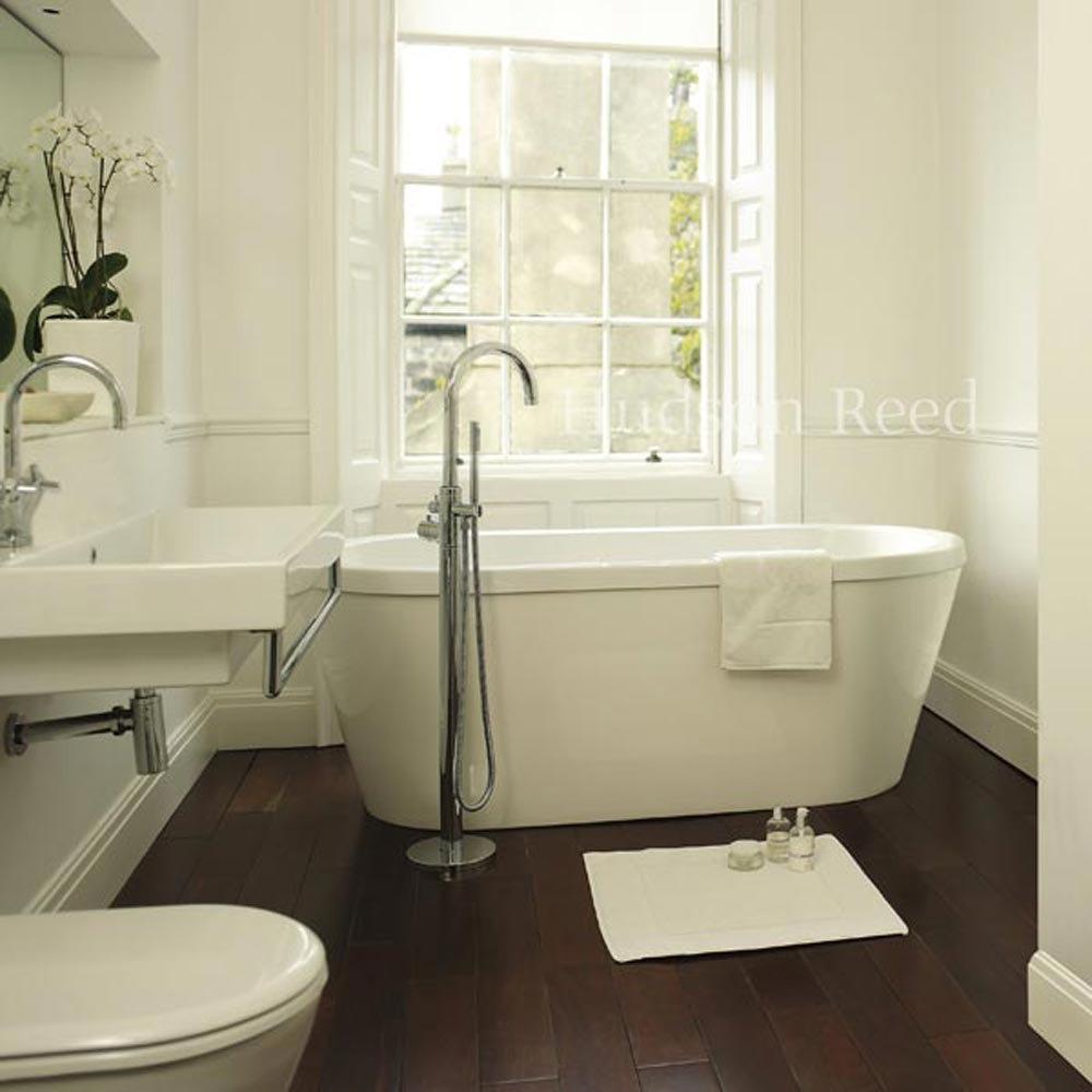 Hudson Reed Tec Single Lever Elite Mono Freestanding Bath