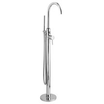 Hudson Reed Tec Single Lever Elite Mono Freestanding Bath Shower Mixer - PN321 Medium Image