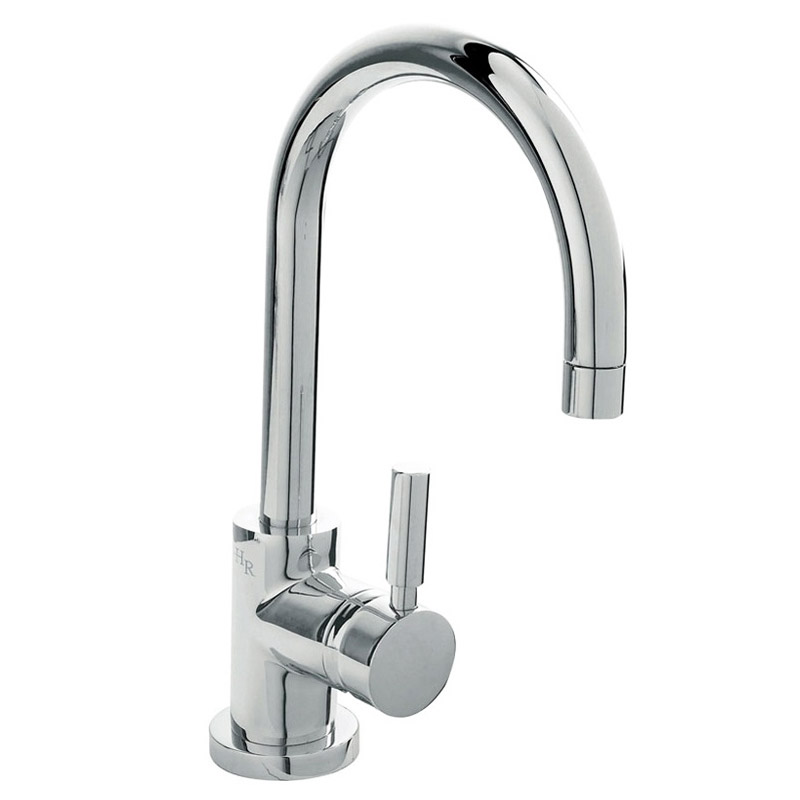 Hudson Reed - Tec Single Lever Side Action Basin Mixer Tap - PN380 Large Image