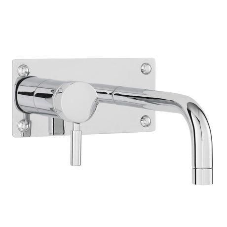 Hudson Reed Tec Single Lever Wall Mounted Bath/Basin Filler - Chrome - PN328