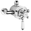 Hudson Reed Traditional Dual Exposed Thermostatic Shower Valve - Chrome - A3091E Small Image