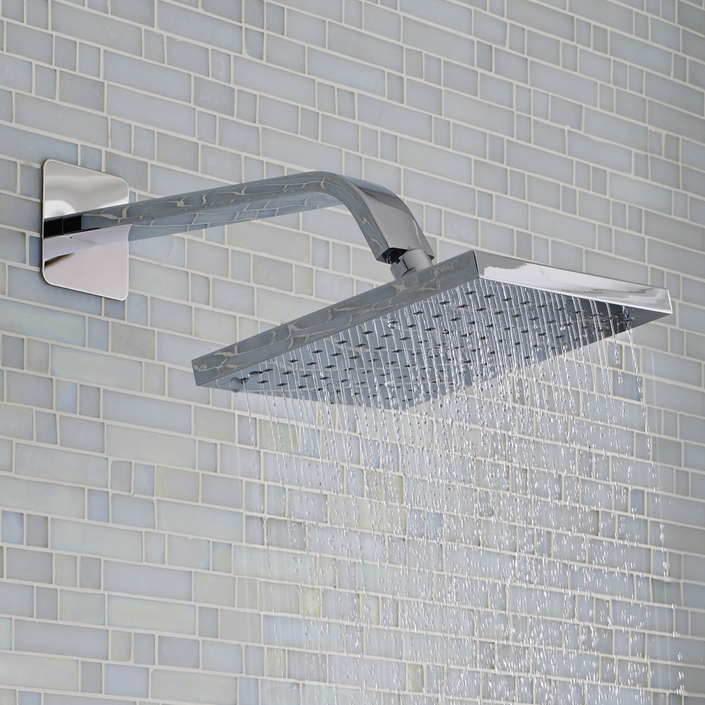 Hudson Reed - Wall Mounted Shower Arm - 268mm Length - ARM34 Profile Large Image