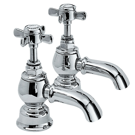 Ultra Luxury Beaumont Bath Taps - Chrome - I322X Large Image