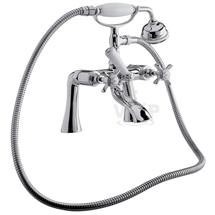 Ultra Traditional Beaumont 3/4 Inch Bath Shower Mixer w/ Shower Kit - I354X Medium Image