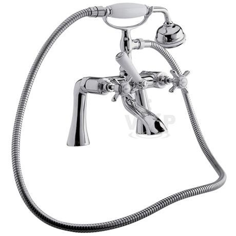 Ultra Traditional Beaumont 3/4 Inch Bath Shower Mixer w/ Shower Kit - I354X