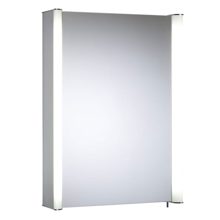 Tavistock Idea Single Door Illuminated Mirror Cabinet