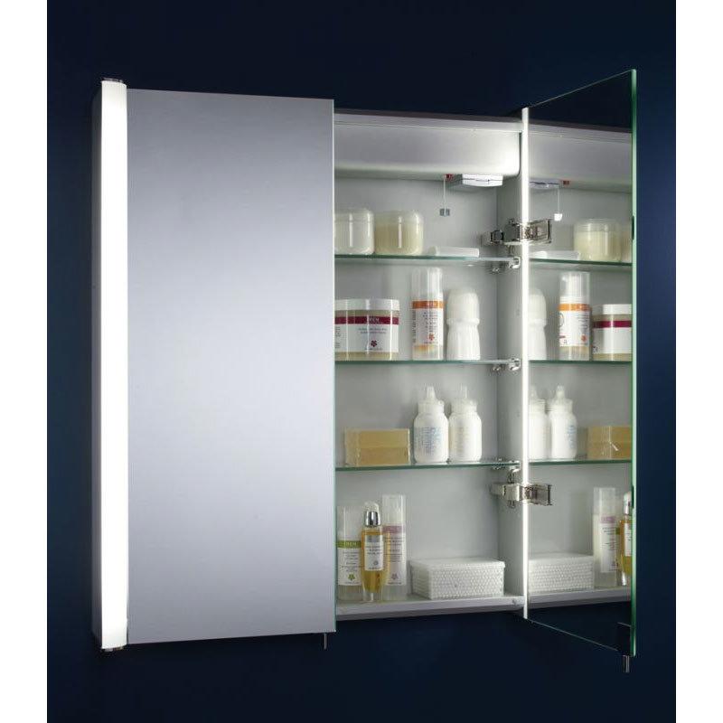 Tavistock Idea Double Door Illuminated Mirror Cabinet Standard Large Image
