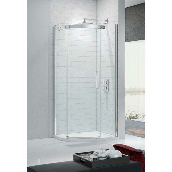 Merlyn Ionic Gravity 1 Door Quadrant Enclosure (900 x 900mm) profile large image view 1