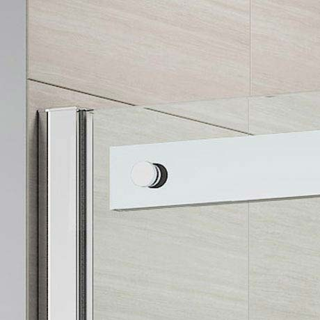 Merlyn Ionic Gravity Sliding Shower Door  Feature Large Image
