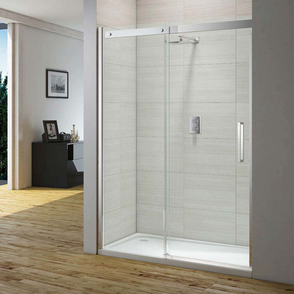 Merlyn Ionic Gravity Sliding Shower Door Large Image