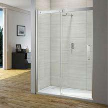 Merlyn Ionic Gravity Sliding Shower Door Medium Image