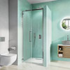 Crosswater Infinity 8 Hinged Shower Door profile small image view 1
