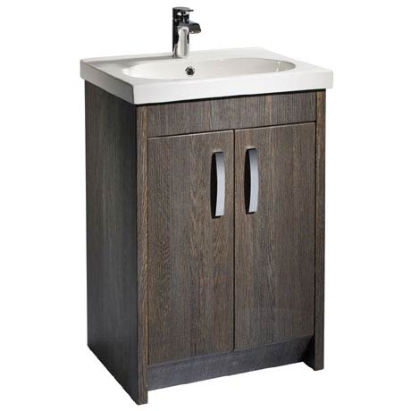 Tavistock Impact 600mm Freestanding Unit & Basin - Java