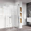 Roman Innov8 Corner Entry Square Shower Enclosure profile small image view 1