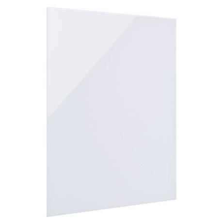 Hudson Reed 450 Watt Infrared Heating Panel H600 x W550mm - White Glass - INF001