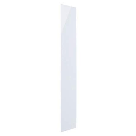 Hudson Reed 600 Watt Infrared Heating Panel H1800 x W300mm - White Glass - INF003