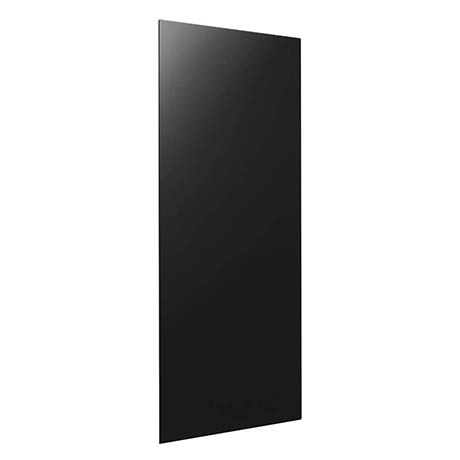Hudson Reed 900 Watt Infrared Heating Panel H600 x W550mm - Black Glass - INF005
