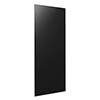 Hudson Reed 900 Watt Infrared Heating Panel H1100 x W550mm - Black Glass - INF005 profile small image view 1