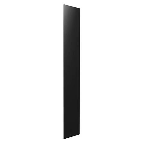 Hudson Reed 600 Watt Infrared Heating Panel H1800 x W300mm - Black Glass - INF006