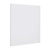 Nuie 595 x 595mm 350 Watt Infrared Heating Panel - White Satin - INF007 profile small image view 1