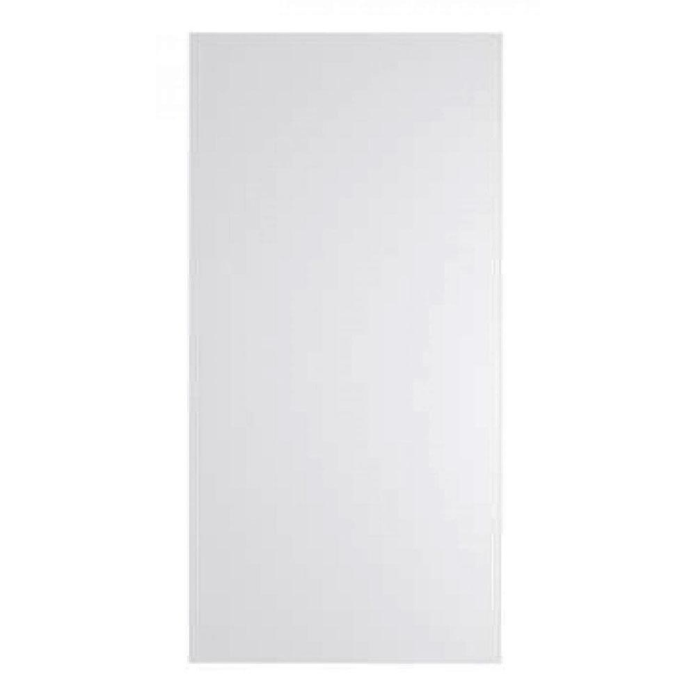 Nuie 1200 x 595mm 800 Watt Infrared Heating Panel - White Satin - INF009