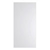 Nuie 1200 x 595mm 800 Watt Infrared Heating Panel - White Satin - INF009 profile small image view 1