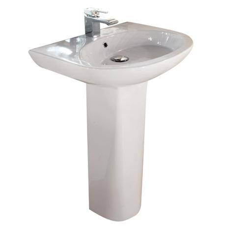 RAK - Infinity 60cm basin and full pedestal
