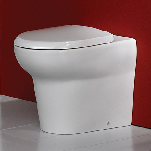 RAK - Infinity Back to wall WC pan with soft close seat Profile Large Image