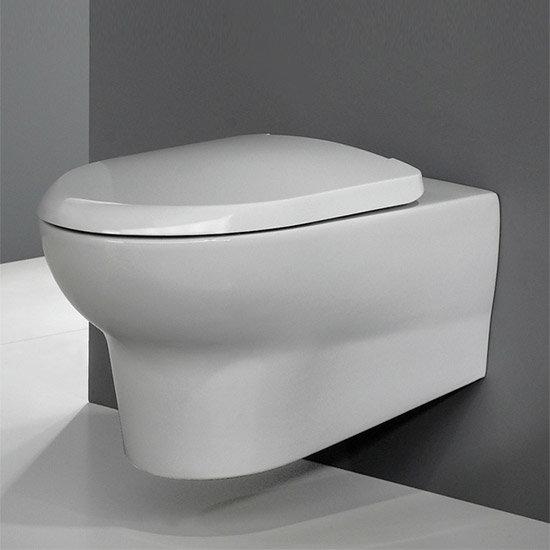 RAK - Infinity wall hung WC pan with soft close seat Profile Large Image