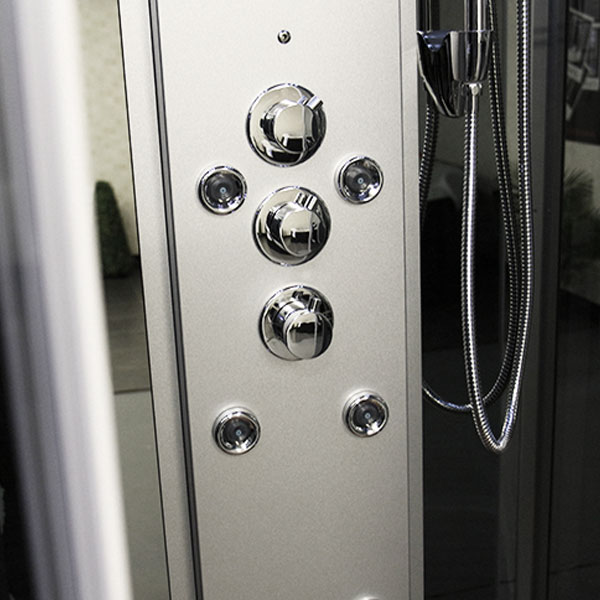 Insignia Steam Shower Cabin with Mirrored Backwalls - INS0509 profile large image view 5