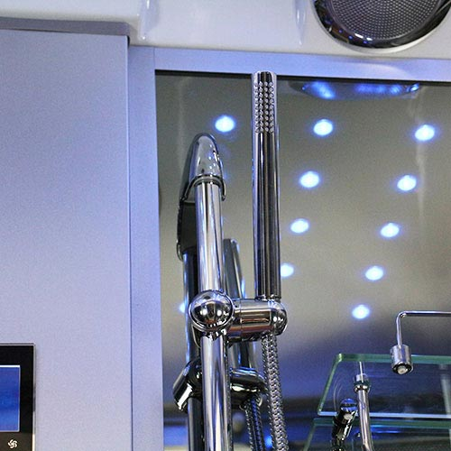 Insignia Steam Shower Cabin with Mirrored Backwalls - INS0509 additional Large Image