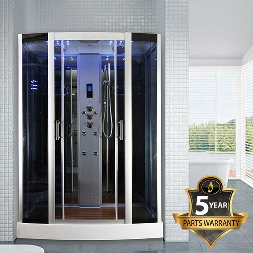 Insignia Steam Shower Cabin with Mirrored Backwalls - INS0509 Large Image