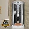 Insignia INS1999 Hydro-Massage Shower Cabin 900 x 900mm profile small image view 1