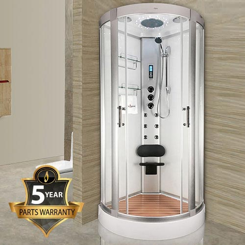 Insignia Hydro-Massage Shower Cabin 900 x 900mm - INS2000 profile large image view 1