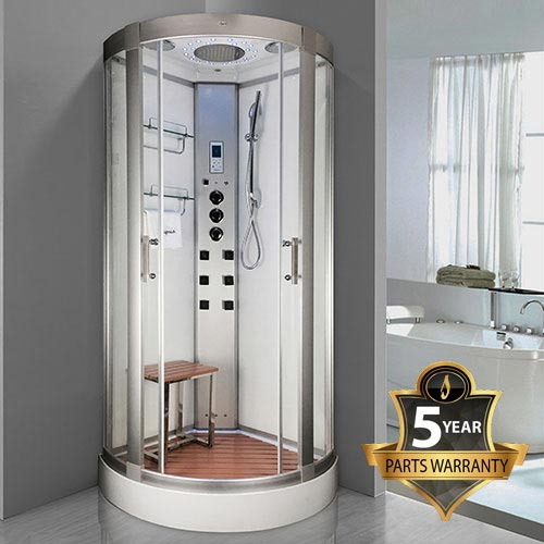 Insignia Steam Shower Cabin 900 x 900mm - INS3000 profile large image view 1
