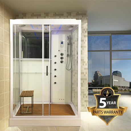 Insignia Steam Shower Cabin 900 x 1400mm - INS4000