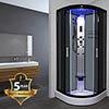 Insignia INS8719 Hydro-Massage Shower Cabin 900 x 900mm profile small image view 1