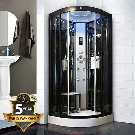 Insignia - Steam Shower Cabin 900 x 900mm - INS8727