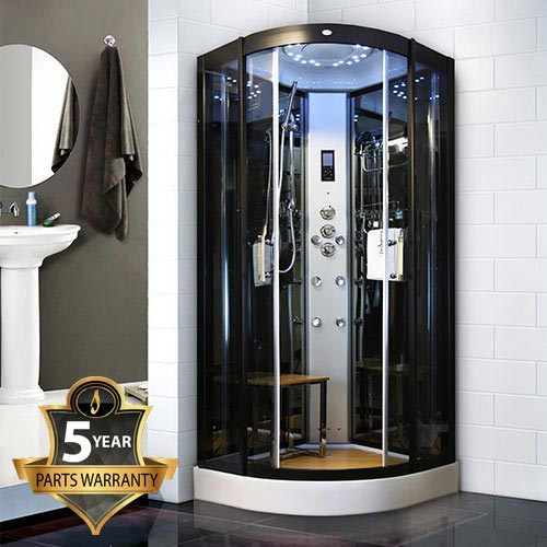 Insignia - Steam Shower Cabin 1000 x 1000mm - INS8728 profile large image view 1