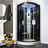 Insignia - Steam Shower Cabin 1000 x 1000mm - INS8728 profile small image view 1
