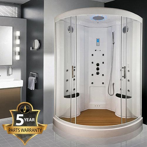 Insignia Two Person Steam Shower Cabin - INS9000 Large Image
