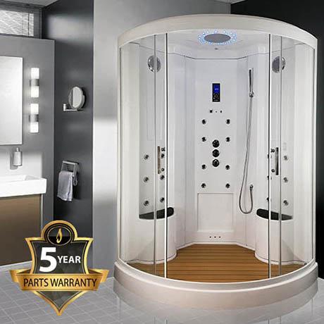 Insignia Two Person Steam Shower Cabin - INS9000