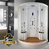 Insignia Two Person Steam Shower Cabin - INS9000 profile small image view 1