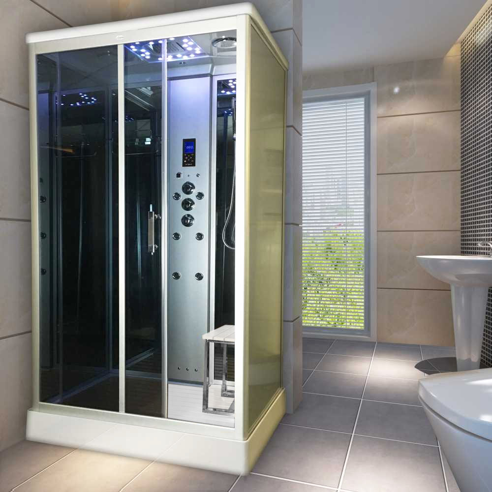 Insignia Steam Shower Cabin Available At Victorian